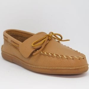 womens mocs moosehide classic natural 490