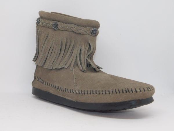 womens boots hi top grey 291t