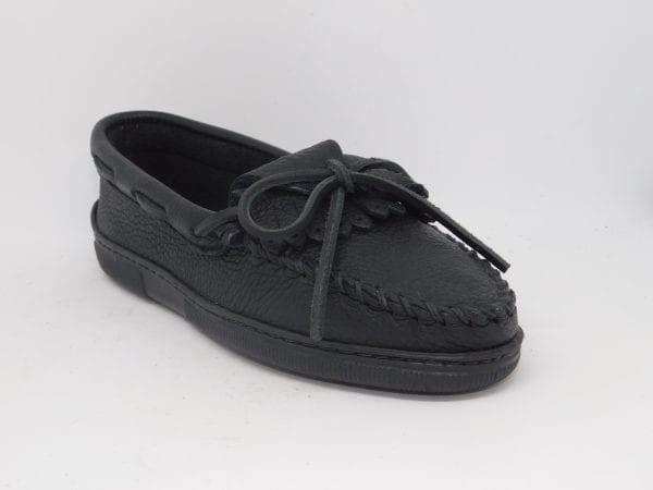 womens moosehide kilty black 399