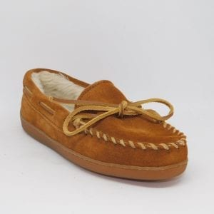 womens slippers pile hardsole brown 3502