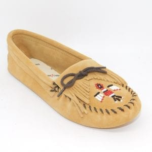 womens mocs thunderbird softsole tan 151
