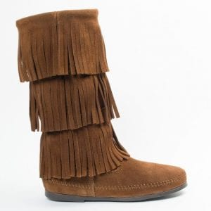 3-Layer Fringe Boot womens
