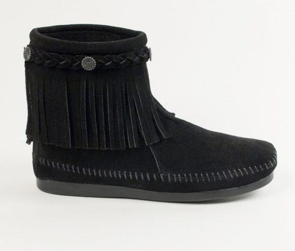 womens boots hi top black 299