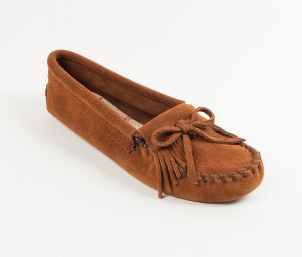 womens mocs kilty brown softsole 102