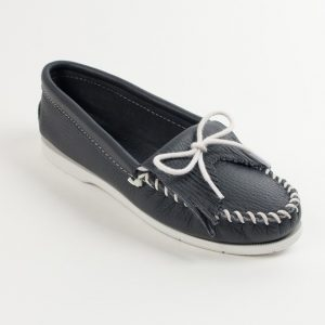 womens mocs kilty unbeaded navy 209