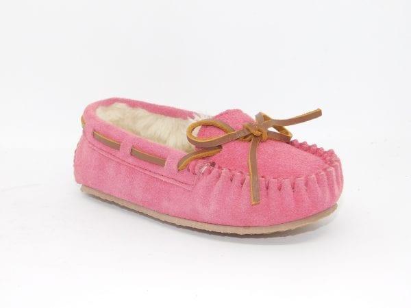 kids cassie moc pink
