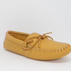 mens mocs double deerskin softsole natural 816