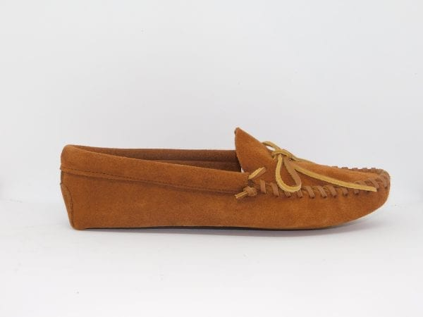 mens leather laced moccasin