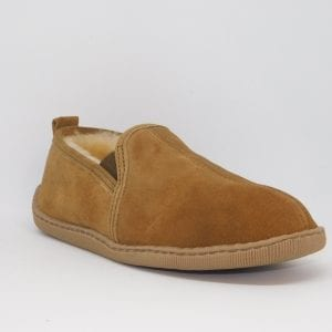 mens sheepskin twin gore front