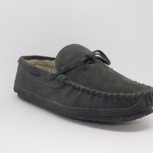 mens slippers casey grey