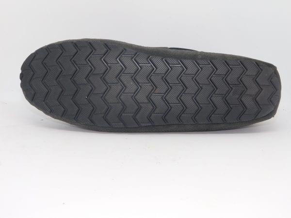 mens slippers casey charcoal
