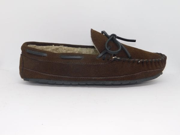 mens slippers casey chocolate
