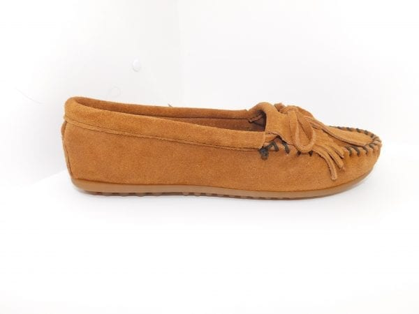 womens mocs kilty brown 402