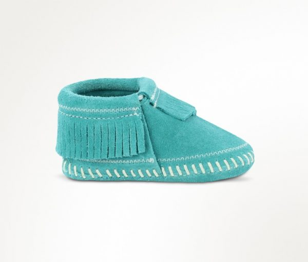 infants boots riley turquoise 1166