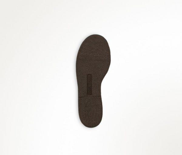kids boots back zip brown 2282