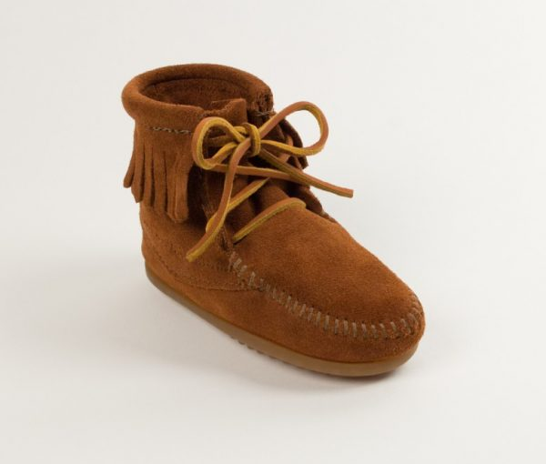 kids boots tramper ankle brown 2422