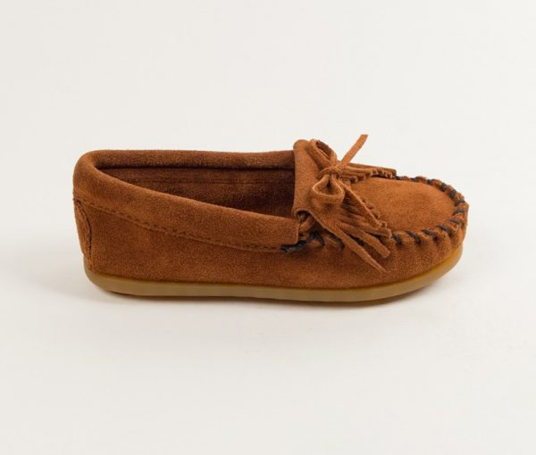 kids mocs kilty brown 2402