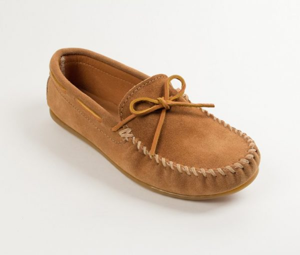 mens mocs classic taupe 917