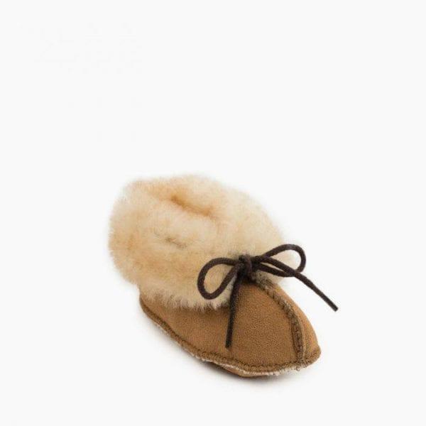 infant sheepskin bootie