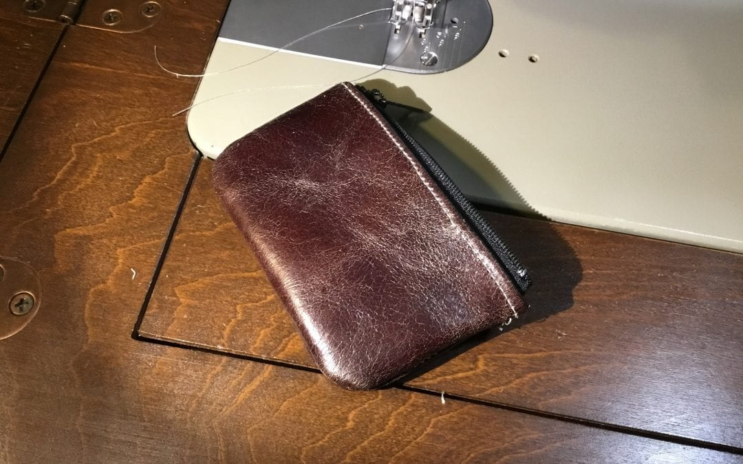 Making a Leather Coin Purse